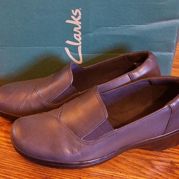 jcpenney Shoes | Euc Clarks Black Low